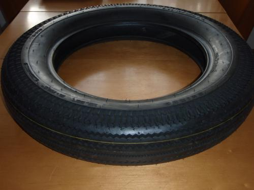 "Tire  5 x 16""  new with old Firestone tread"