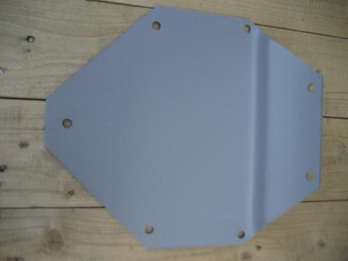 Indian rear support plate 40 up