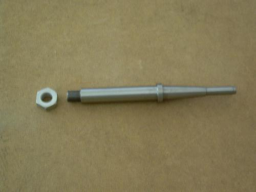 Indian sidecar axle with nut