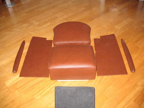 Indian upholstery brown