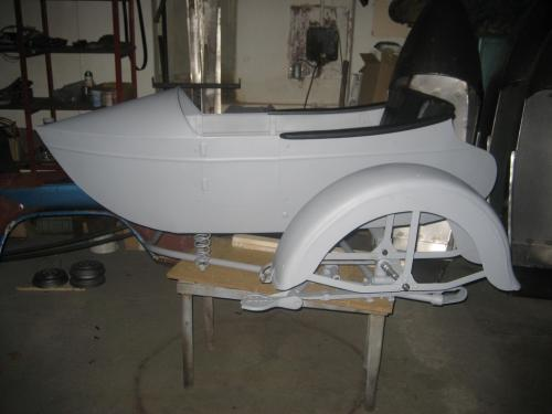 LS 29 left side sidecar complete