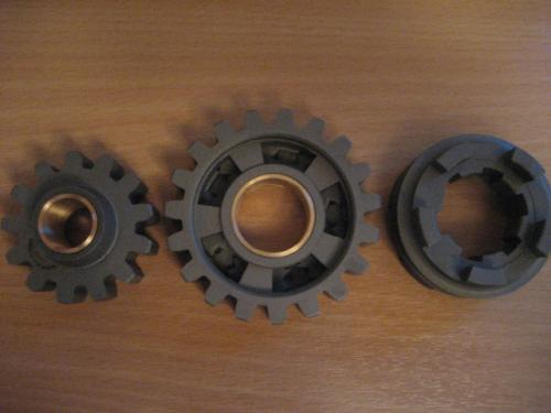 Rear gear sprockets