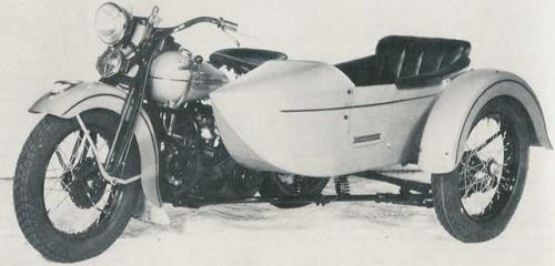 1938 WS with 1938 LSS sidecar