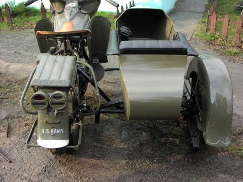 LS 29 Goulding sidecar back view